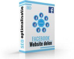 website laten delen facebook