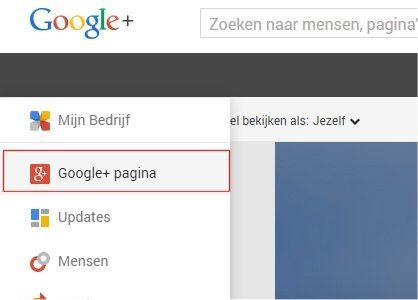 google-plus-pagina