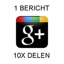 1-bericht-10-x-delen-op-google-plus