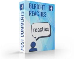 Facebook reacties kopen