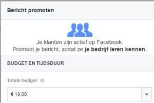 adverteren op facebook campagne