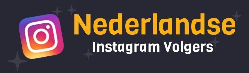 nederlandse instagram volgers