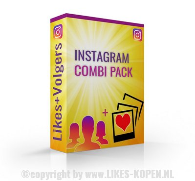 combi pakket volgers likes instagram