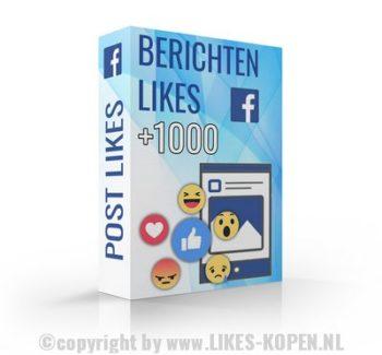 facebook bericht laten liken