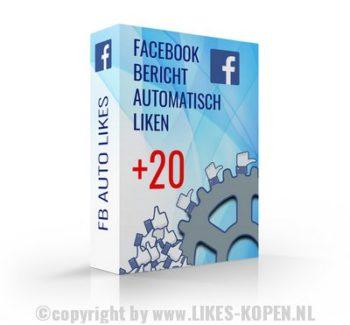 bericht op facebook automatisch laten liken