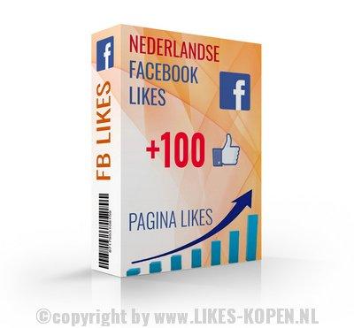 100 nederlandse facebook likes kopen