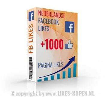 facebook likes bestellen uit nederland