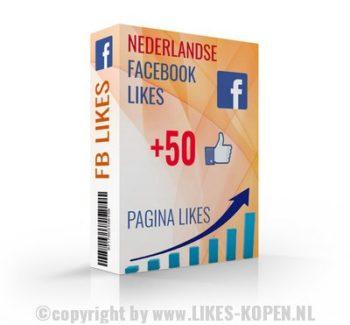 50 nederlandse facebook likes