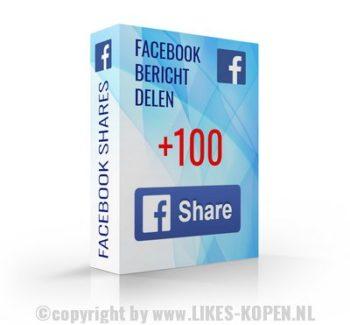 bericht delen op facebook
