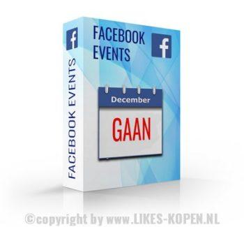 facebook event gaan promoten