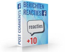 reacties kopen voor bericht op facebook