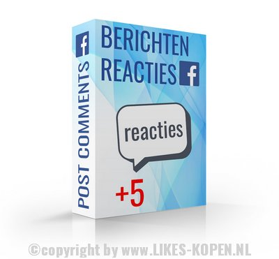 reacties kopen facebook