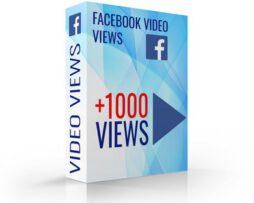 facebook video views kopen