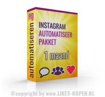 instagram automatiseer pakket