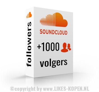 1000 volgers