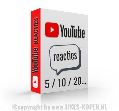 reacties youtube video kopen