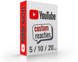 reacties voor youtube kopen