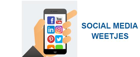 social media weetjes