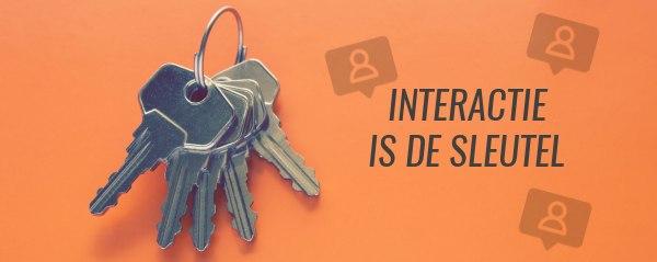 interactie sleutel tot meer volgers op instagram