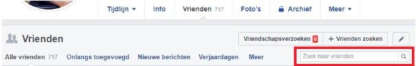 vrienden zoeken facebook