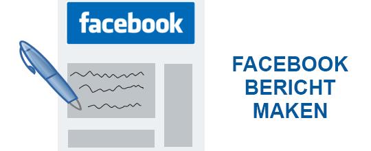 facebook bericht maken