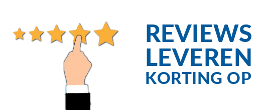 punten sparen door reviews te geven