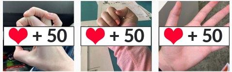 meerdere foto's laten liken op instagram