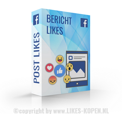 Facebook bericht likes kopen