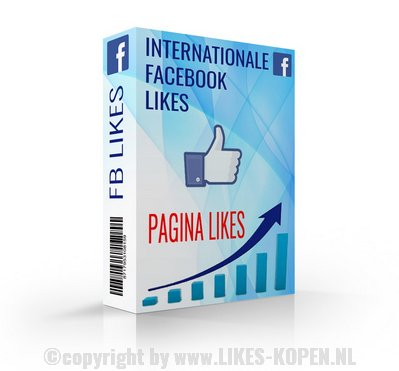 facebook pagina likes internationaal