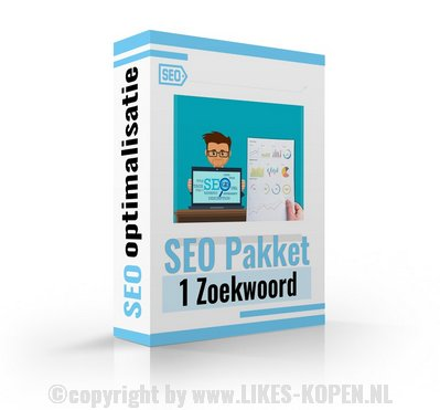 SEO pakket 1 zoekwoord