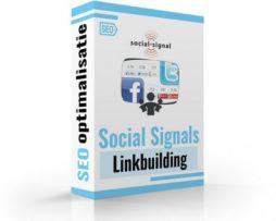 Social signals linkbuilding seo